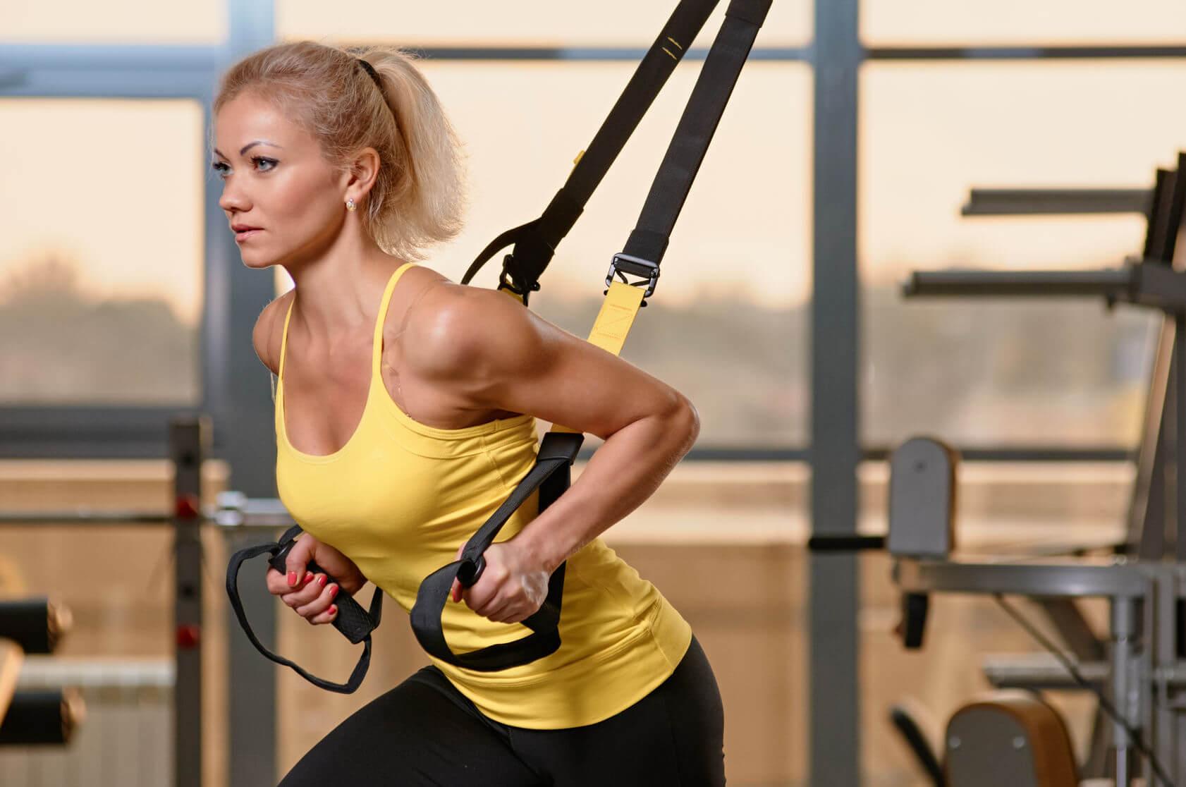 TRX-Training - Fit durch das eigene Körpergewicht
